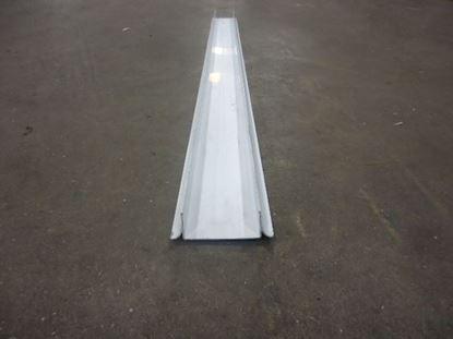 "Picture of NSF U screed 3""x96"" white PVC 0303-00011"